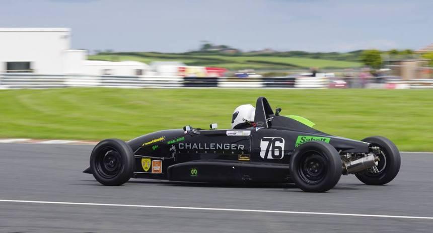 Jake Byrne Wins at Kirkistown. Image from Raceline Photography. Motorsport.ie