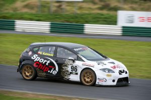 Kalinecki took ITCC Touring Class Honours and a new lap record. Image from Chester.ie