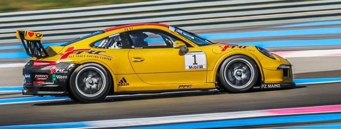 Nicole Drought, Porsche GT3 supercup, Le CastelletSean Edwards Foundation