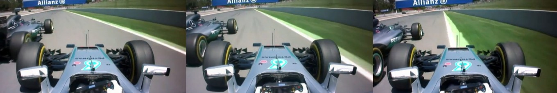 Nico V Lewis Spanish GP