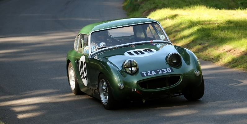 Photographer Derek Hibbert, James Thacker, 1960 Sprite MK1, 'One-eyed Sprite' (2)1