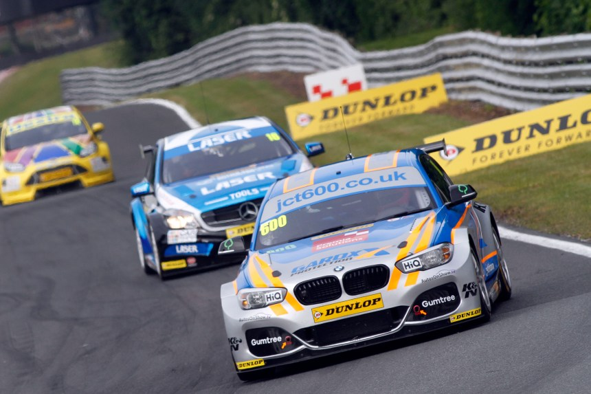 Sam Tordoff produced a great lap in the WSR BMW