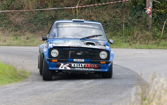 Jonathan Pringle James Fulton led the first 4 stages before leaving the road and ending up in a field