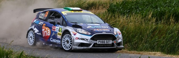 Keith Cronin / Mikie Galvin Ford Fiesta R5