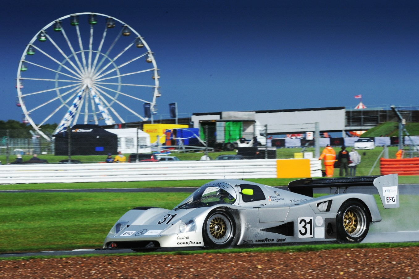 Silverstone Classic 28-30 July 2017 At the Home of British Motorsport LENDOUDIS Kriton, AGUAS Rui, MERCEDES C11 Free for editorial use only Photo credit – JEP