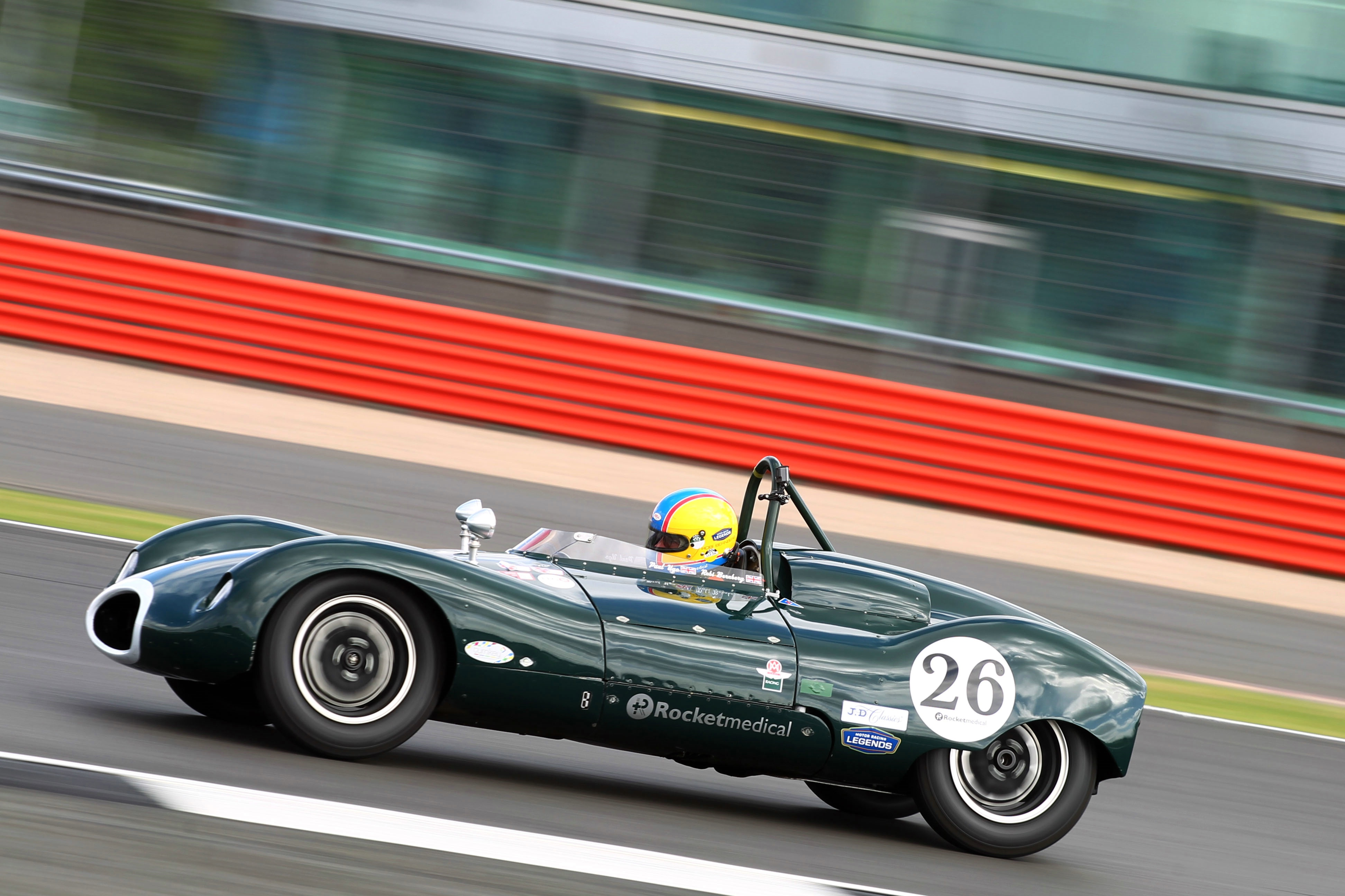 Silverstone Classic 28-30 July 2017 At the Home of British Motorsport Stirling Moss pre 61 Sports cars xxxxxxxdrivercarxxxxx Free for editorial use only Photo credit – JEP