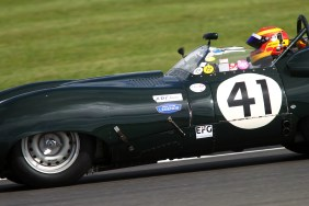 Silverstone Classic 28-30 July 2017 At the Home of British Motorsport Stirling Moss pre 61 Sports cars WARD Chris, Lister Costin Free for editorial use only Photo credit – JEP