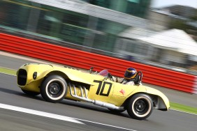 Silverstone Classic 28-30 July 2017 At the Home of British Motorsport Stirling Moss pre 61 Sports cars NAGAMATSU Ernie, MCCLURG Sean, Old Yeller MkII Free for editorial use only Photo credit – JEP