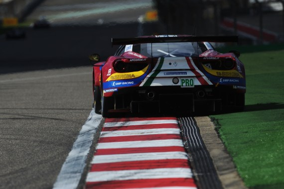 2017 FIA World Endurance Championship, Shanghai, China. 3rd-5th November 2017, 51 AF Corse Ferrari 488 GTE James Calado, Alessandro Pier Guidi World Copyright JEP_LAT Images