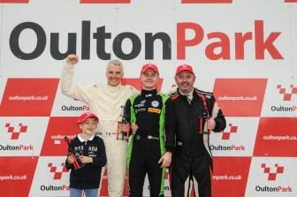 Race 1 Podium - F3 Cup Oulton Park 2017