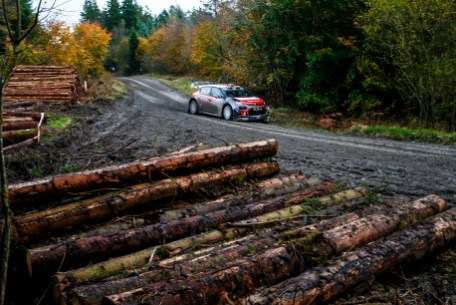 2017 FIA World Rally Championship, Round 12, Wales Rally GB, 26-29 October, 2017, Craig Breen, Citroen, action, Worldwide Copyright: LAT/McKlein
