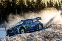 2017 FIA World Rally Championship, Round 02, Rally Sweden, February 09-12, 2017, Ott Tanak, Ford, Action, Worldwide Copyright: McKlein/LAT