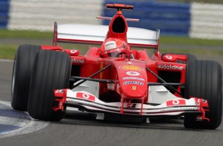 2004 British Grand Prix - Friday Practice, 2004 British Grand Prix Silverstone, Britain. 09th July 2004 World Copyright: Steve Etherington/LAT Photographic ref: Digital Image Only
