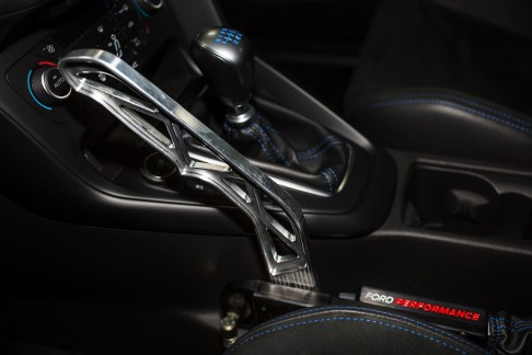 Ford today announces the all-new Ford Performance Drift Stick, the first-ever, rally-inspired electronic handbrake, developed and designed for Focus RS and approved by rally and stunt star Ken Bock.