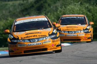 Gordon Shedden (GBR), Team Halfords, Honda Civic