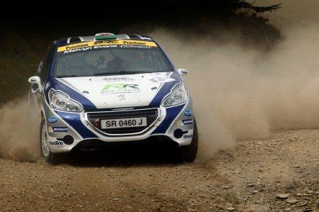 Meirion Evans / Jonathan Jackson Peugeot 208 R2