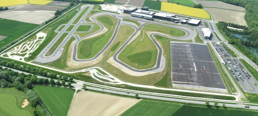 Audi Neuburg is a high-tech-site in Neuburg at the Danube, located 18 km west of the Audi AG headquarters Ingolstadt. The 47 hectares compound is the new home of Audi driving experience and Audi Sport with the Audi motorsport center as well as Audi customer sport.