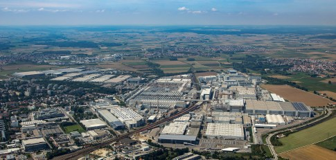 Audi Ingolstadt is the largest production site of the Audi Group and the second largest car factory in Europe. More than half-a-million cars leave the AUDI AG plant at the Ingolstadt site each year. A record-setting 592,337 entirely built Audi models were produced in Ingolstadt in 2016. An automobile drives off the assembly lines every 30 seconds, or more than 2,500 a day.
