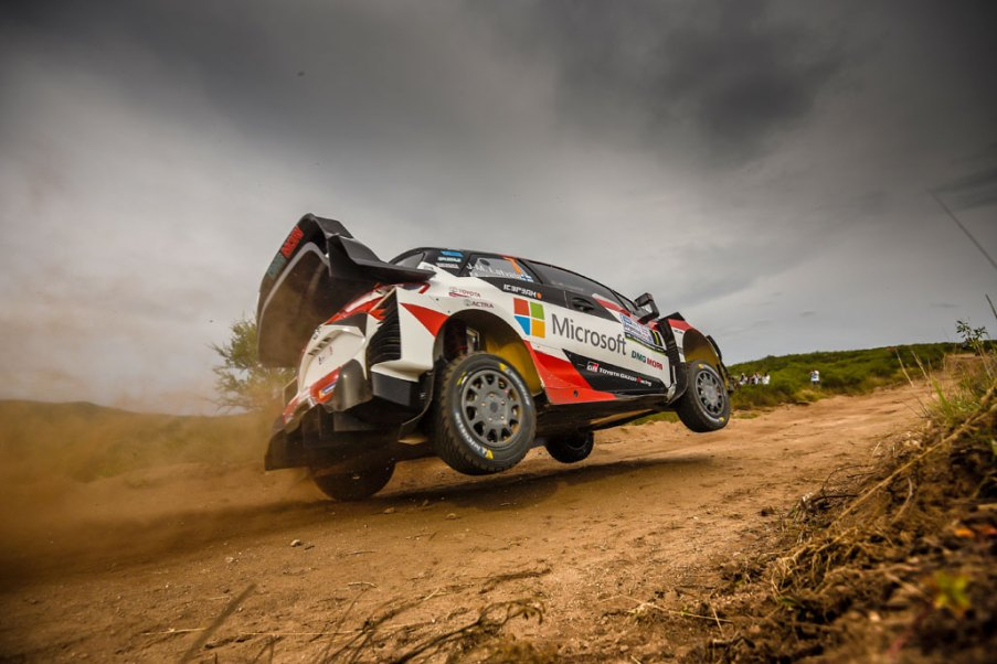 Toyota WRC Argentina2