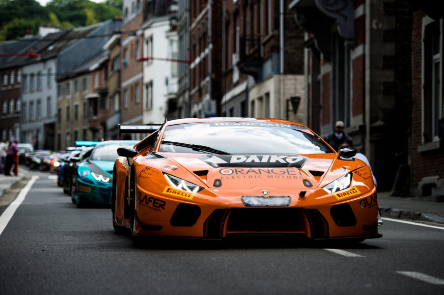 July 27-30, 2017 - Total 24 Hours of Spa, Orange 1 Team Lazarus, Luca Filippi,Nicolas Pohler, Fabrizio Crestani, Lamborghini Huracan GT3