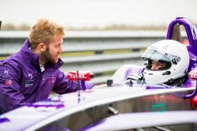 2. Vernon with the team's star driver Sam Bird
