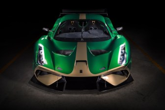 Brabham BT62 Front View
