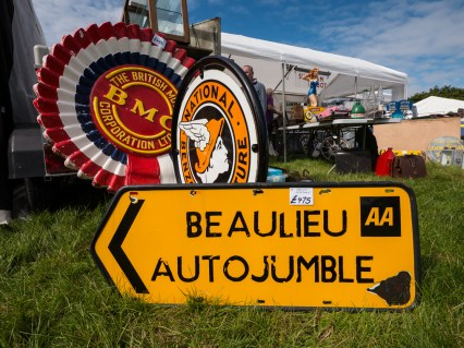 International Autojumble sign