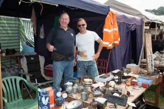 International Autojumble stallholders