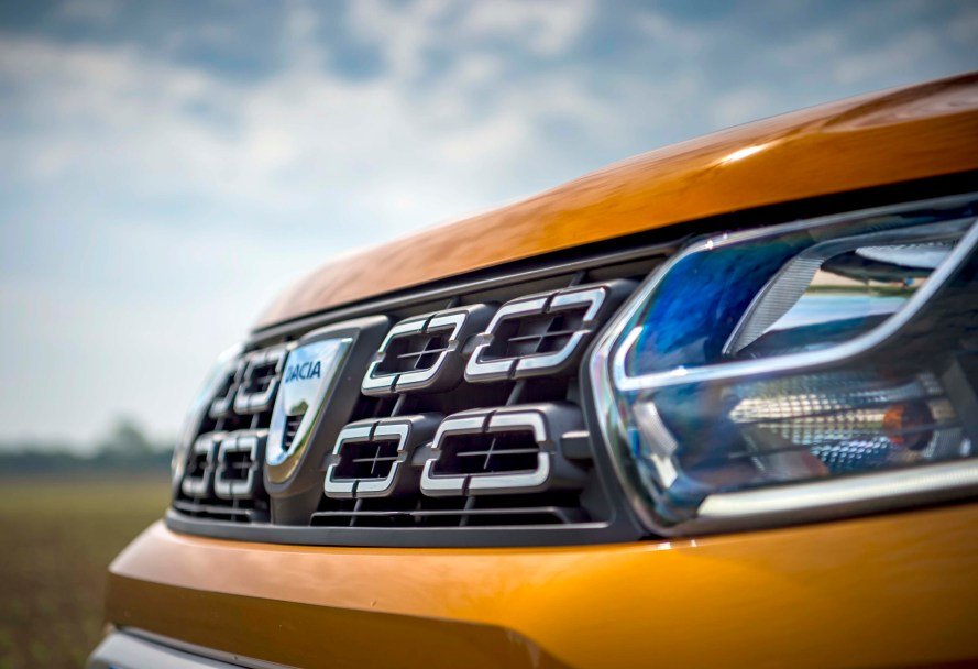 new Dacia Duster f