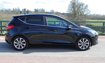new Ford Fiesta a