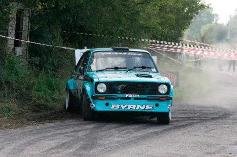 NO 5 SEED Midletons Colin Byrne first of the IMC drivers from MIDLETON HE WILL BE TRYING HARD PIC GER LEAHY