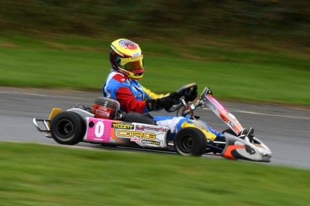Alyx Coby at the F100UK Championship at Glan-y-Gors in Wales. Photo: Marc Quinlivan