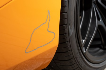 McLaren 720S Spa 68 Collection_track layout rear wheel arch