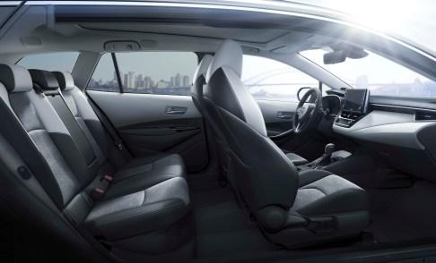 new Toyota Corolla interior