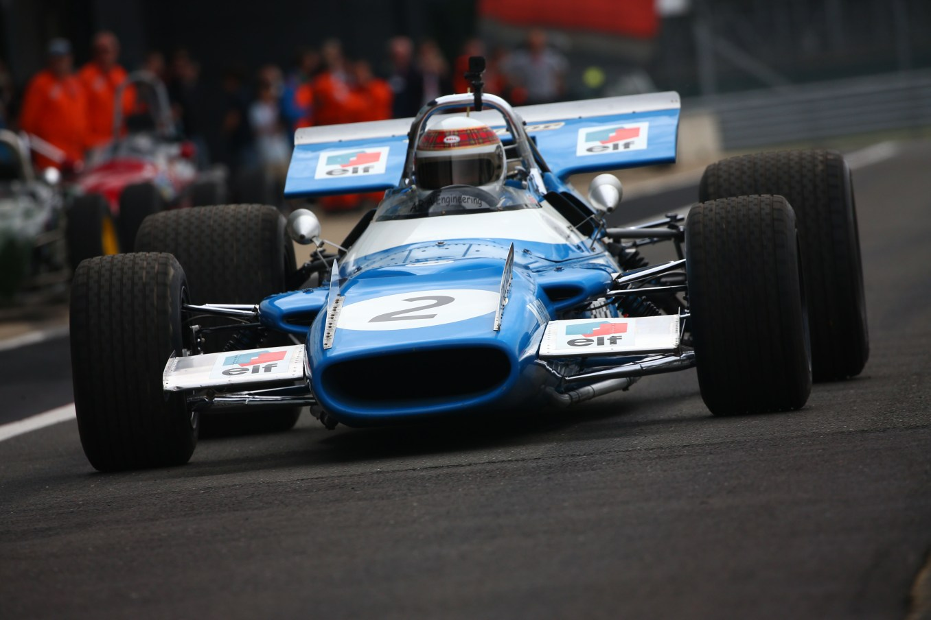 Sir Jackie Stewart celebrates 50 years since his first British Grand Prix win at the 2019 Silverstone Classic 5