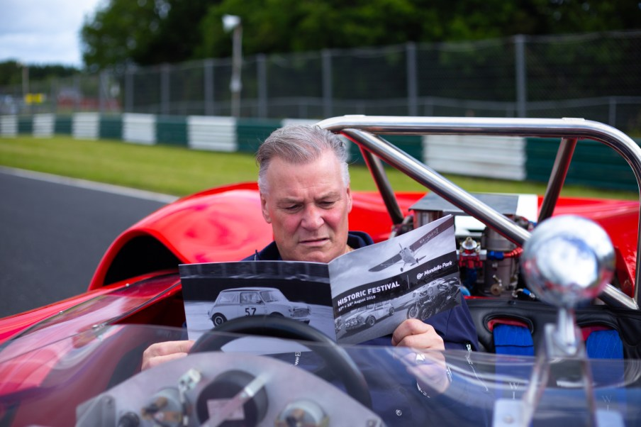 Derry Clarke check out the packed programme for the Mondello Park Historic Festival which takes place on August 17 & 18