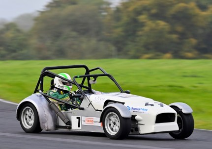 Steven Kelly showed great pace in Race 2. Image from Michael Chester
