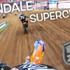 Intense Supercross Battle! Dangerboy Last Lap Pass For The Win!