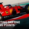 F1 testing day one: Ferrari strikes first in Spain