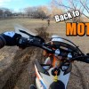 First MOTO Day | Crashes, Roost, and Berms!