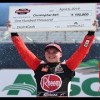 Bell celebrates with big Dash 4 Cash check in Bristol Victory Lane