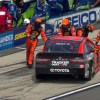 Truex Jr.'s chances end early due to engine issues
