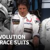 How F1 race suits have changed over seven decades