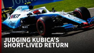 Why Kubica's 'astonishing' F1 comeback fell short