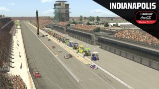 eNASCAR Coca-Cola iRacing Series from Indianapolis Motor Speedway