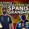 10 things we learned from the Spanish Grand Prix