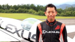 "Coming soon  ""Thanks for ALL"" Yoshi MUROYA × LEXUS Special Flight@ FUJI SPEEDWAY"