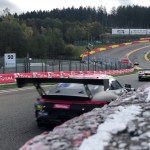 Eau Rouge GT3 fly-by
