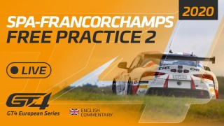 FREE PRACTICE 2 – GT4 EUROPEAN SERIES – SPA 2020 – ENGLISH