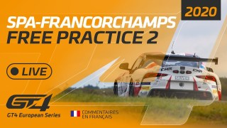 FREE PRACTICE 2 – GT4 EUROPEAN SERIES – SPA 2020 – FRENCH